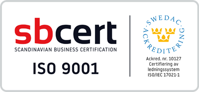 ISO 9001 badge